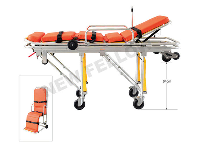 Multi Functional Elevator Back Stretcher Chair Confined Space Rescue Stretcher